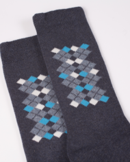 1224 E50 blu socks detail