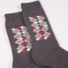 1224 E50 grey red socks detail