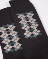 1224 E50 black socks detail