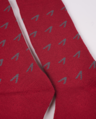 1224 red socks detail
