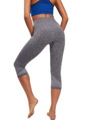 Ženske hlače Capri Melange Actiwear iron