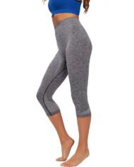 Ž. hlače Capri Melange Actiwear iron